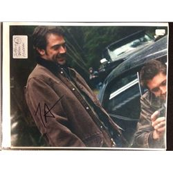 "JEFFREY DEAN MORGAN AUTOGRAPHED 8"" X 10"" MATTED PHOTO"