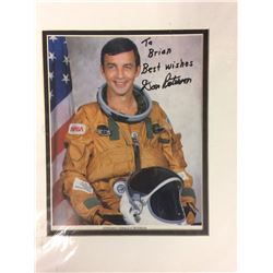 ASTRONAUT DON PATTERSON AUTOGRAPHED 8  X 10  PHOTO W/ COA
