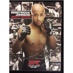 "DEMETRIOUS ""MIGHTY MOUSE"" JOHNSON AUTOGRAPHED 8"" X 10"""