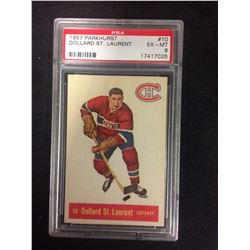 1957 PARKHURST #10 DOLLARD ST. LAURENT (EX-MT 6) PSA