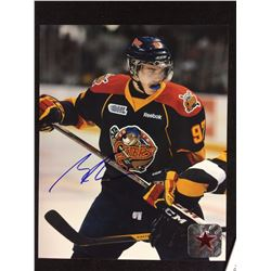 "CONNOR McDAVID AUTOGRAPHED ERIE OTTERS 8"" X 10"" PHOTO W/ STARSIDE COA"