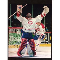 "PATRICK ROY AUTOGRAPED 8"" X 10"" PHOTO"