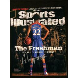 ANDREW WIGGINS AUTOGRAPHED SPORTS ILLUSTRATED COVER
