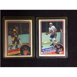 CAM NEELY & PAT LAFONTAINE ROOKIE CARD LOT