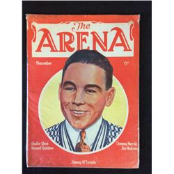 THE ARENA BOXING MAGAZINE (1930'S) JIMMY McLARNIN COVER