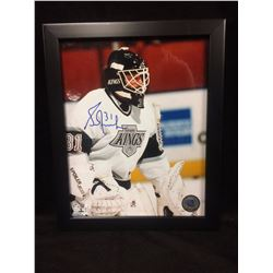 AUTOGRAPHED GRANT FUHR 8 X 10 PHOTO IN FRAME W COA