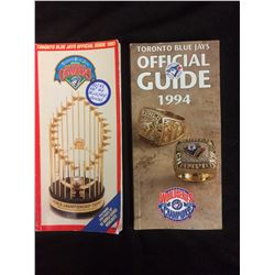 TORONTO BLUE JAYS WORLD CAHMPS OFFICIAL GUIDES