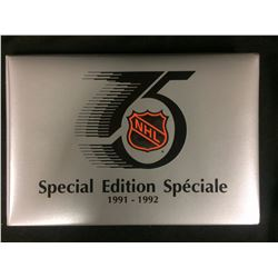 1991-92 KRAFT SPECIAL EDITION 75th ANNIVERSARY SET COMPLETE W/ ALBUM