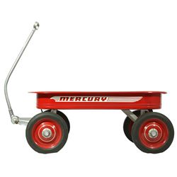Antique 1940's Mercury Red Wagon