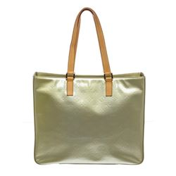 Louis Vuitton Green Vernis Monogram Leather Columbus Shoulder Bag
