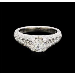 1.14 ctw Diamond Ring - Platinum