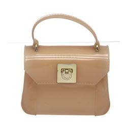 Furla Pale Pink Candy Mini Bon Bon Crossbody Tote Bag