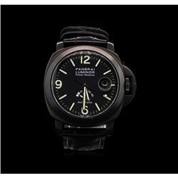 Panerai Luminor Power Reserve PVD Men's Watch