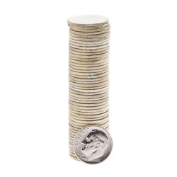 Roll of (50) 1959 Brilliant Uncirculated Roosevelt Dimes