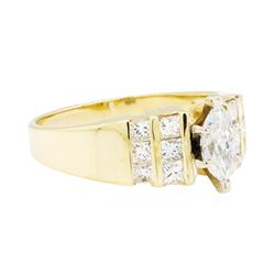 1.46 ctw Diamond Ring - 14KT Yellow Gold