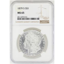 1879-S NGC MS 65 Morgan Silver Dollar