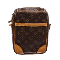 Louis Vuitton Monogram Canvas Leather Danube Crossbody Bag