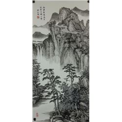 Liang Shiyu b.1945 Chinese Ink Painting on Paper