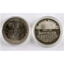 Pair of Commemorative Coins
