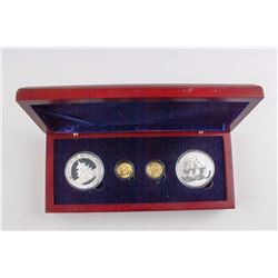 2009 China Panda Comemorative 4 Coin Set