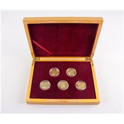 2008 Chinese Olympic Games Commemorative Coin Set