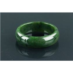 Chinese Fine Green Jade Bangle