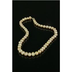 Chinese Natural Sea Pearl Necklace
