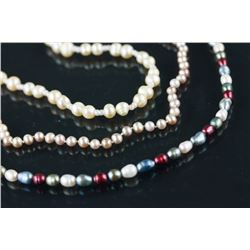 Three Pieces of Pearl Necklaces
