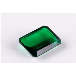 AAA Nanocrystal Lab Emerald Octagon 22 x 16 mm