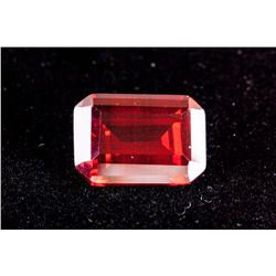 Emerald Cut 29.54 CT Pigeon Blood Red Ruby 18 x 13