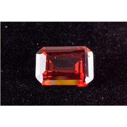 Emerald Cut 29.46 CT Pigeon Blood Red Ruby 18 x 13