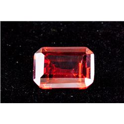 Emerald Cut 27.48 CT Pigeon Blood Red Ruby 18 x 13