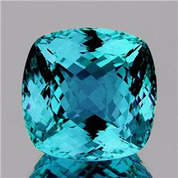 Natural Top Color  Blue Zircon 3.53 Cts {Flawless}