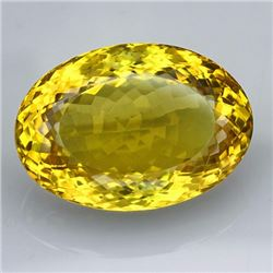 Natural Lemon Citrine Gemstone 54.75 Carats - VVS