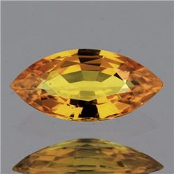 Natural Golden Yellow Sapphire 9x4 Mm - VVS