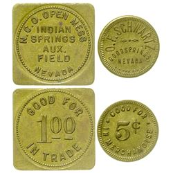 Two Nevada Tokens