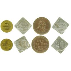Nevada Whorehouse Tokens (Goldfield & Elko)
