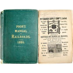 Poor's Manual of Railroads Of the US 1885