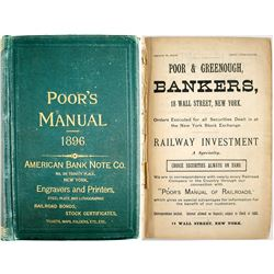 Poor's Manual of Railroads Of the US 1896