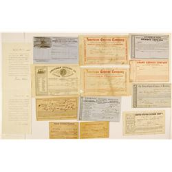 Eastern US Express Collection, c.1850s-1870s
