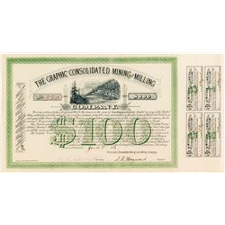 Graphic Consolidated Mining and Milling Bond, Robinson, CO, 1883