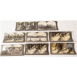 Mining Stereoview Group incl. Underground Views (Arizona, Michigan, Montana)