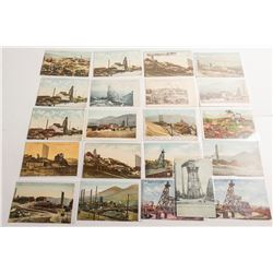 21 Mining Scene Postcards at Butte, Montana