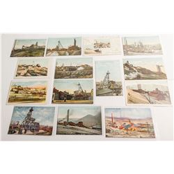 Butte, Montana Mining Postcards with Publishers Identified