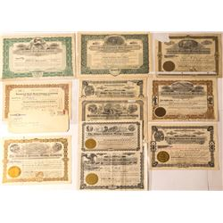 Goldfield Mining Stock Certificates (11)