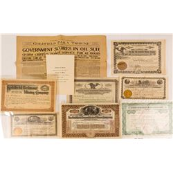 Gut of Goldfield Ephemera and Stock Certificates