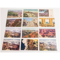 Grand Canyon Color Real Photo Postcards