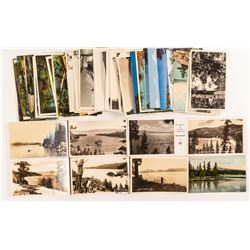 Large Collection of Lake Tahoe Postcards