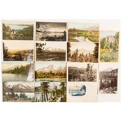 Postcards of Lake Tahoe & the Mountains that Surround Her