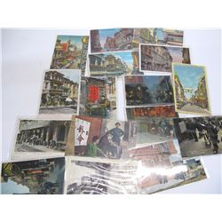 Chinatown Street Scenes Postcards